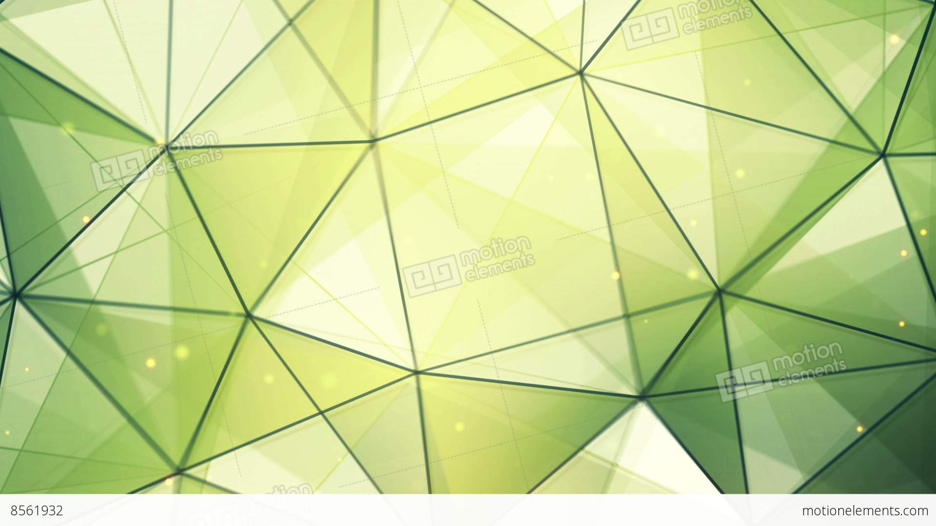 Image of green triangles